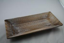 Holz Tablett Amelie natur/antik