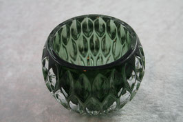 Windlicht aus Glas grün