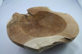 Teak-Holzschale