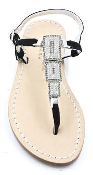 """sandali artigianali """"dafne"""" neri ."""