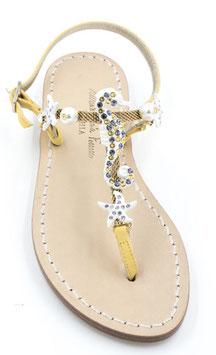 sandali cavalluccio marino gialli.