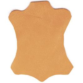 """Sandali alla schiava """"arancione"""" in pelle."""