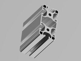 "Aluminiumprofil 80x40mm ""Leicht"" I-Typ Nut 8"