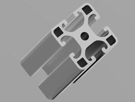 "!B-WARE! Aluminiumprofil 40x40mm ""Leicht"" I-Typ Nut 8"