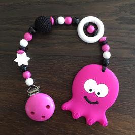 """Beisskette """"Octopus Pink"""""""