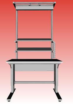 Arbeitstisch - High Table Motor 1.200 x 750 mm