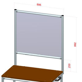 Anti Virus Wall für Assembly Trolley 40