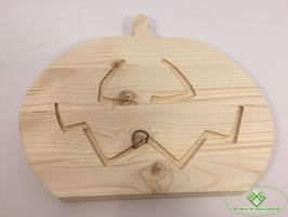 Kürbis aus Holz 2