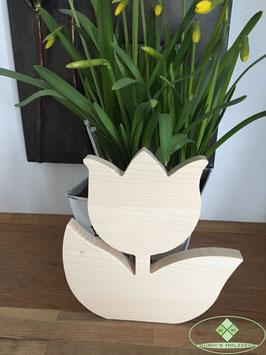 Tulpe aus Holz