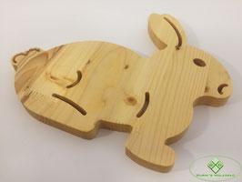 Osterhase aus Holz 1 klein