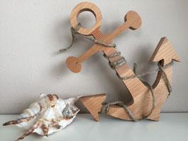 Anker aus Holz