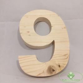 Holz Ziffern Typ 3