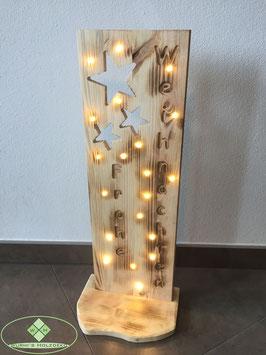 Weihnachtsaufsteller LED