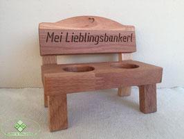 """Schnapsbank """"Mei Lieblingsbankerl"""""""