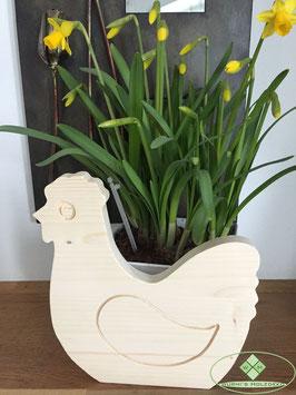 Huhn aus Holz