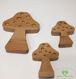 Pilze aus Holz