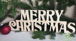 """Schriftzug """"Merry Christmas"""""""