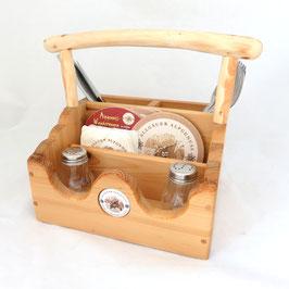 Besteck Kasten  aus Altholz