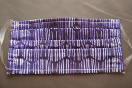 M16 Mund -und Nasenmaske Stripe Purple (Masken können aus Hygiene Gründen nicht umgtauscht oder zurück gegeben werden)