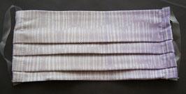 M15 Mund -und Nasenmaske Stripe Lavender (Masken können aus Hygiene Gründen nicht umgtauscht oder zurück gegeben werden)