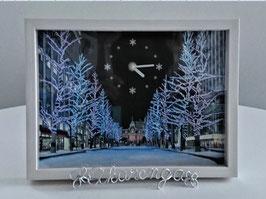 アートフレーム置時計(Art Frame Clock)