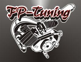 FP Aufkleber Motor Logo groß Ø  250mm