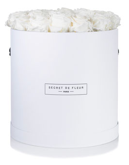 BLANC PUR, Luxe rond blanc