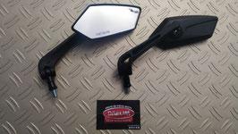 paire de rétroviseur modèle: noir mat
