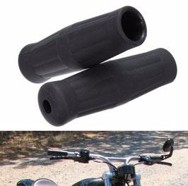 paire de poignées noir  diam 25 mm