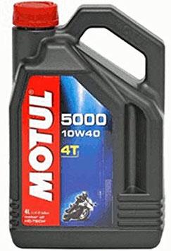 huile motul 10w40  pour moteur 4 temps ( 4 litres)