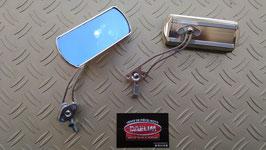paire de rétroviseur chromés modèle: custom chromé