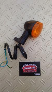clignotant arrière daelim daystar   noir/orange