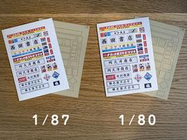看板①(1/80,1/87)