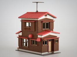 二階建住宅B カラーVer.(1/150)