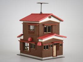 二階建住宅A カラーVer.(1/150)