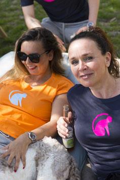 AAP Shirt Orange - dames