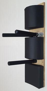 Wooden Dummy Alternative / Wing Chun Kung Fu / 2xHalbrolle+Schlagpad