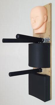 Wooden Dummy Alternative / Wing Chun Kung Fu / Kopf+Halbrolle+Pad