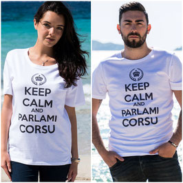 KEEP CALM AND PARLAMI CORSU - Adulti