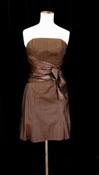 Robe TULIPE froissée + drapé