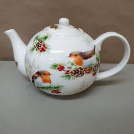 Teekanne Winter Robin