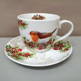 Tasse Winter Robin