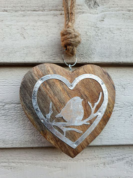 rustikales Herz