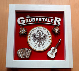 GRUBERTALER 3-D-BILD – aus Holz in Handarbeit gefertigt