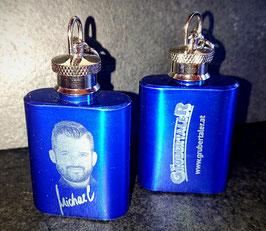MINI-FLACHMANN - EDITION MICHAEL - blau-glänzend, 25 ml
