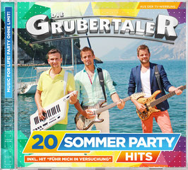 CD - 20 Sommer Partyhits
