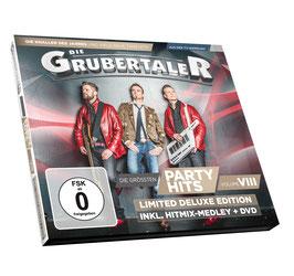 CD/DVD - Deluxe Edition - Die größten Partyhits Volume VIII