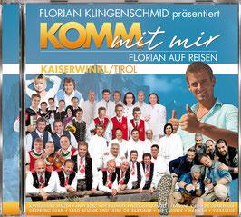 CD - Komm mi mir - Florian auf Reisen