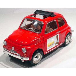 """Florians Blitz """"Fiat 500 L"""" als Modell in rot"""