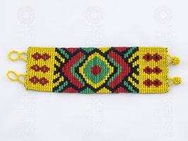 Chaquira-Armband RAUTEN